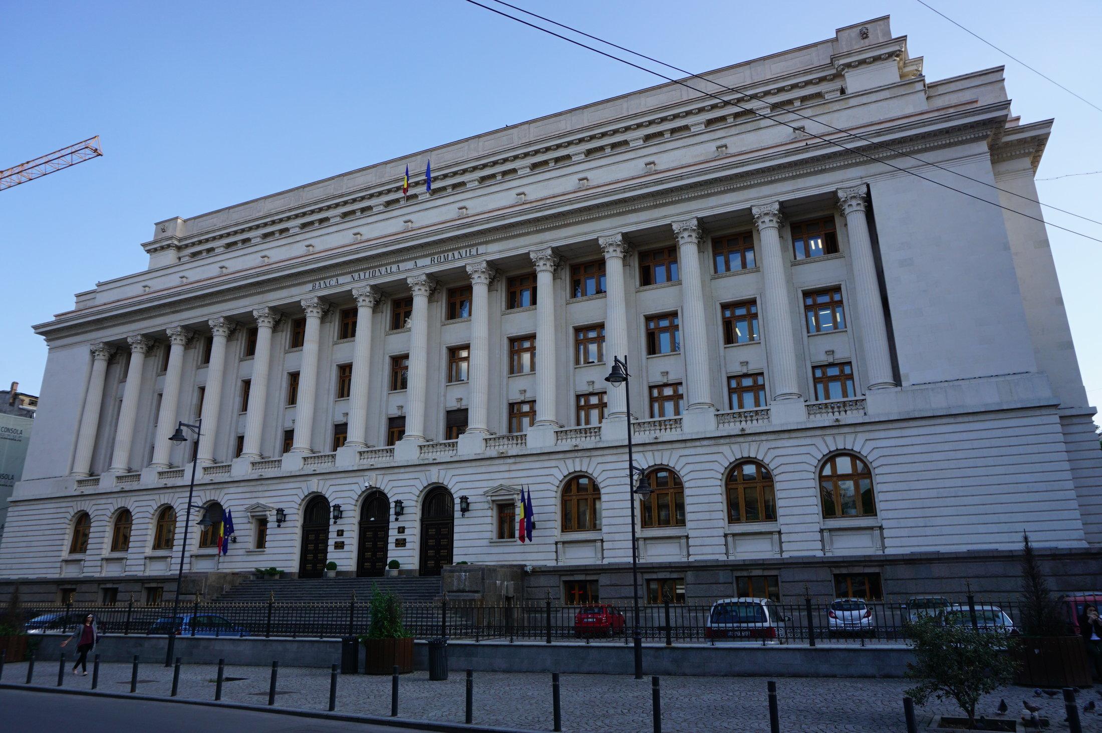 Národná banka Rumunska v Bukurešti