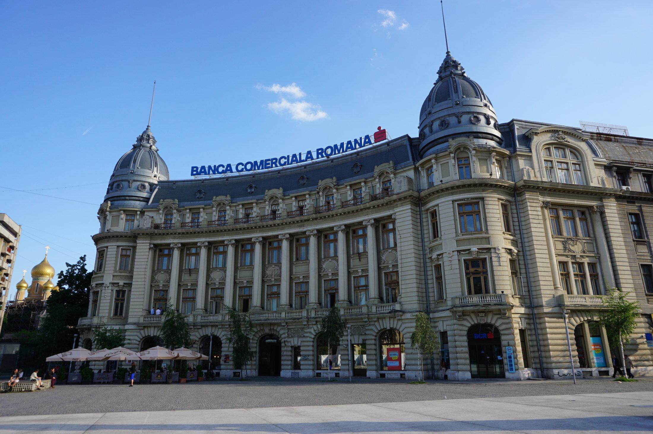 Rumunská komerčná banka v Bukurešti
