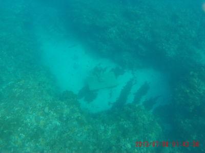 Podmorská socha redaktora