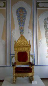 Chanov trón v pevnosti Ark