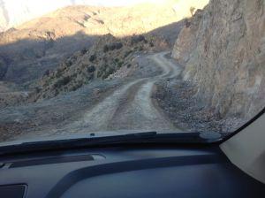 Cesta v horách Al Hadžar (autor: Marek Š.)