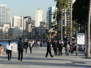 Promenáda Corniche (zdroj: Wikipedia.org)