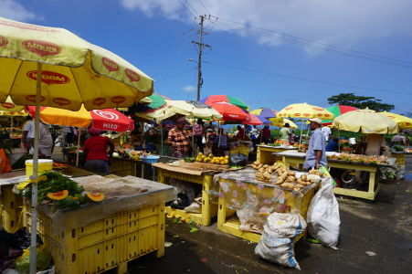 Tržnica v Roseau