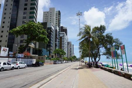 Plážová promenáda v Boa Viagem