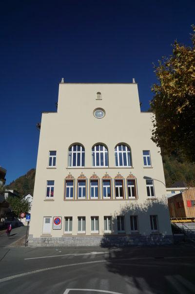 Mestská radnica vo Vaduze
