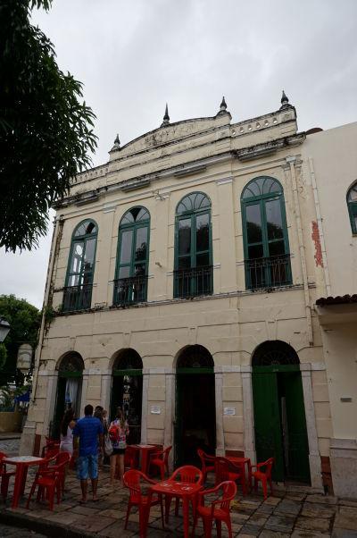 Reštaurácia Antigamente v historickom centre São Luís