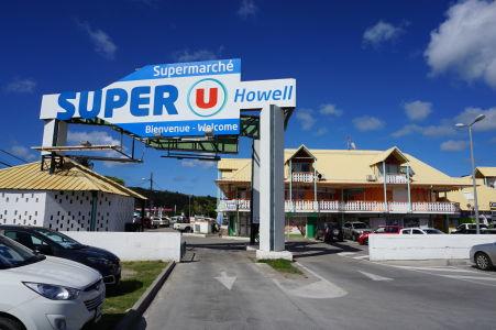 Marigot - nákupné centrum