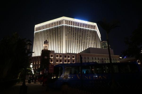 Kasíno a hotel Venetian v Macau - najväčšie kasíno sveta