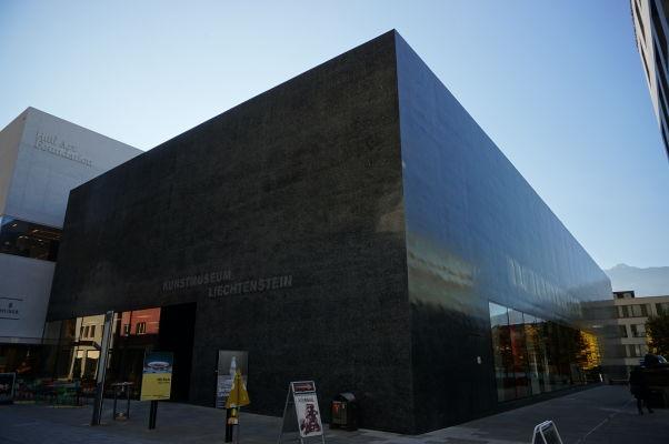 Múzeum (moderného) umenia (Kunstmuseum) vo Vaduze