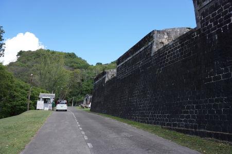 Stánok, kde sa platí vstupné do pevnosti