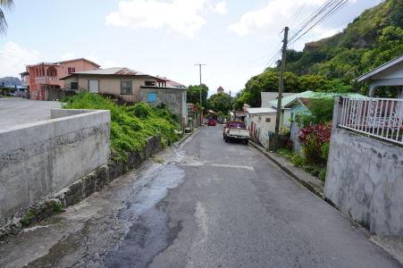 Uličky mestečka Soufriere