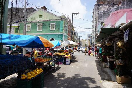 Tržnica v São José