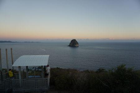 Diamantové skalisko (Rocher du Diamant) neďaleko pobrežia Martiniku