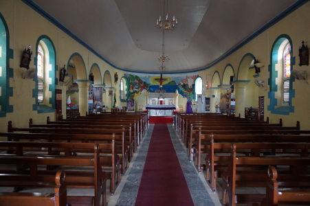 Katolícky kostol v Soufriere