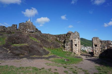 Pevnosť Fort St. Louis v Marigote