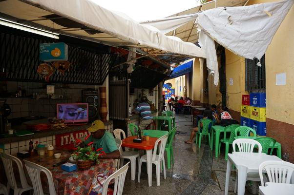 """""""Reštaurácia"""" v historickej mestskej tržnici v São Luís"""