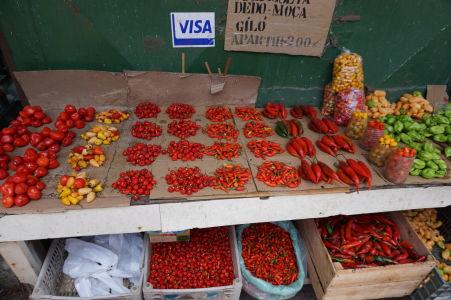 Platba kartou na tržnici? V Brazílii žiadny problém