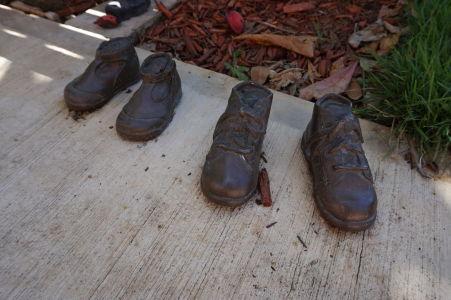 Park Las Palomas - Nejaká socha si tu zabudla topánky