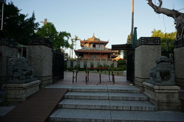 Vstupná brána k veži Chihkan v Tchaj-nane, bývalej holandskej pevnosti Fort Provintia