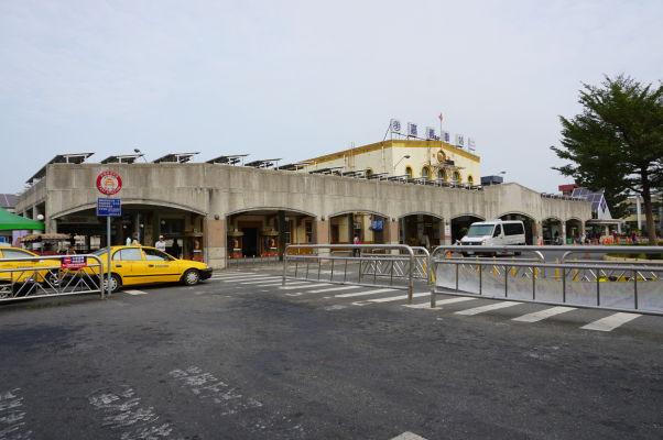 Vlaková stanica v Ťia-i