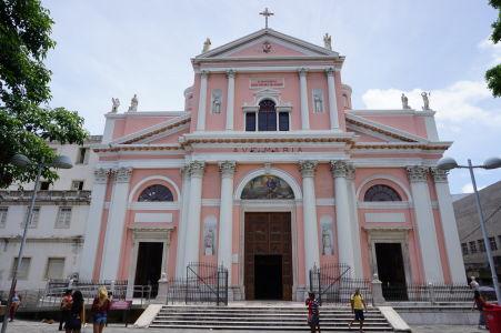 Baroková fasáda baziliky