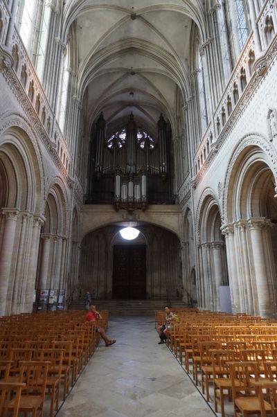 Organ Katedrály Matky Božej v Bayeux