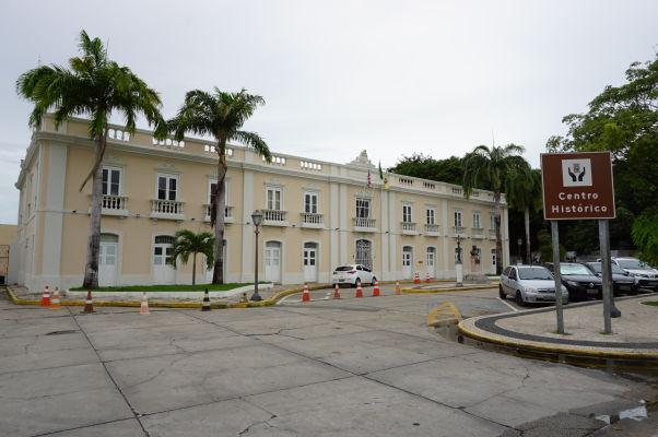 Prefektúra São Luís na námestí Avenida Dom Pedro II