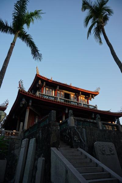 Veža Chihkan v Tchaj-nane, bývalá holandská pevnosť Fort Provintia