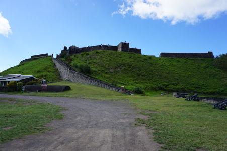Pohľad na srdce pevnosti - Fort George