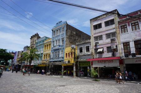 Farebné budovy São José