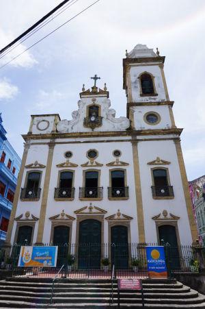 Chrám Igreja de Nossa Senhora do Livramento na ulici Rua do Livramento