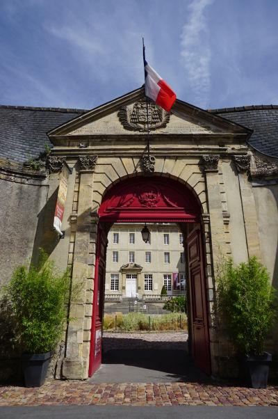 Múzeum Tapisérie z Bayeux - hlavná vstupná brána