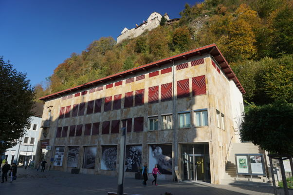 Poštové múzeum vo Vaduze (Postmuseum des Fürstentums Liechtenstein)
