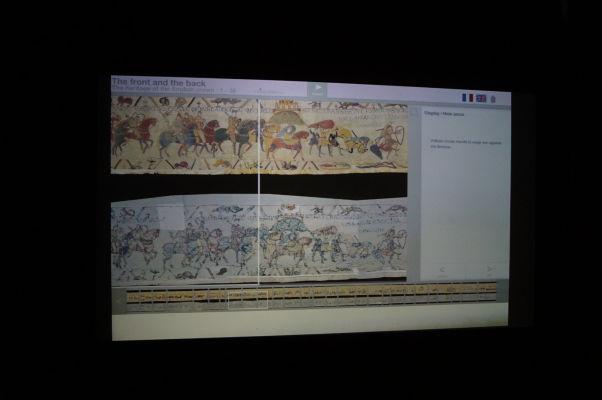Múzeum Tapisérie z Bayeux - môžete si tu pozrieť i digitalizovanú verziu tapisérie spolu s výkladom