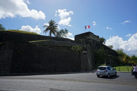 Pevnosť Saint-Louis vo Fort-de-France