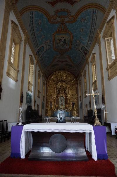Hlavný oltár katedrály v São Luís