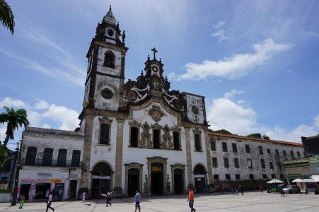 Jeden z hlavných chrámov v meste, Basílica de Nossa Senhora do Carmo - Karmelitánska bazilika Matky Božej
