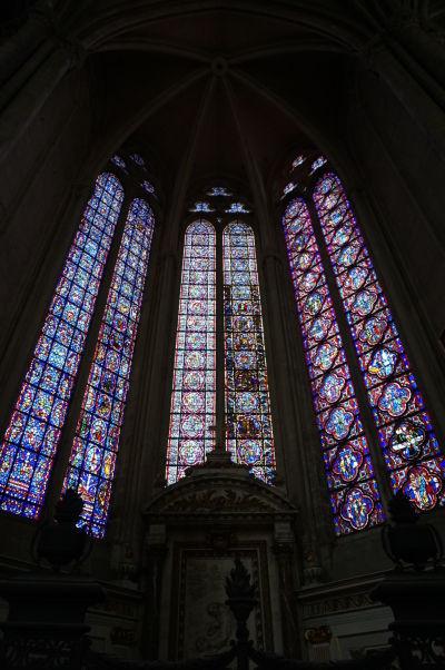 Vitrážové okná Katedrály Matky Božej v Amiens