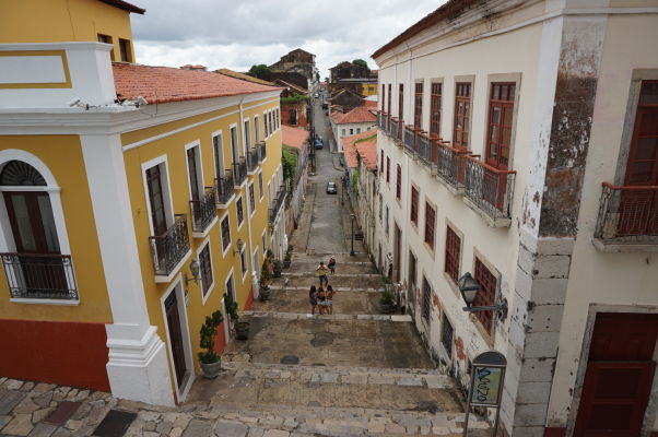 Ulica Rua 28 de Julho v historickom centre São Luís