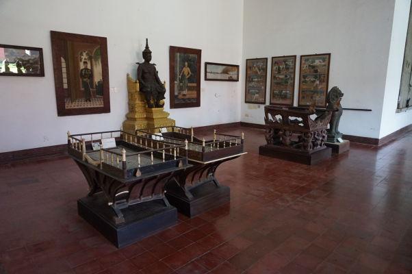 Nosidlá na slona z 19. storočia - Národné múzeum v Phnom Penhu