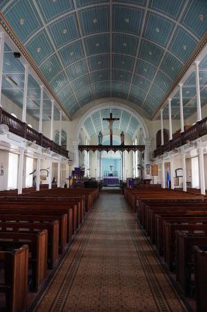 Anglikánsky kostol St. Mary's Church (Kostol sv. Márie) z roku 1827
