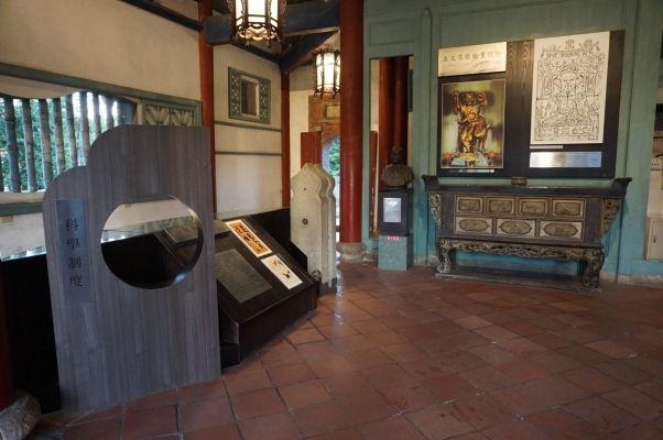 Múzeum vo veži Chihkan v Tchaj-nane, bývalej holandskej pevnosti Fort Provintia