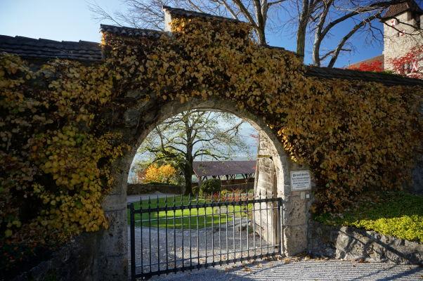Vstupná brána k hradu Vaduz
