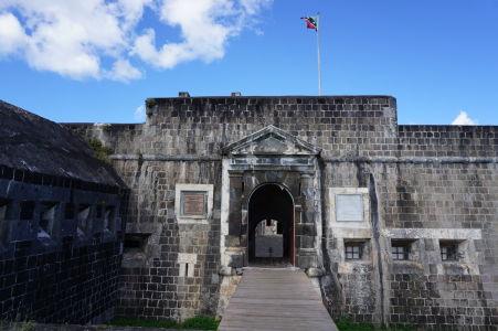 Hlavný vstup do srdca citadely Fort George