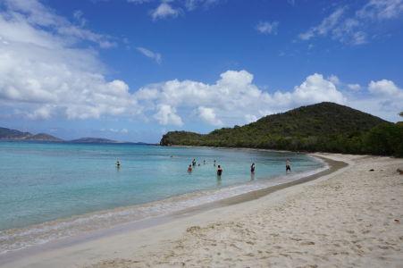 Karibské more v Smuggler's Cove