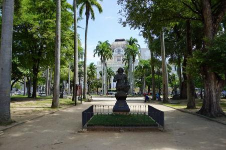 Park na Námestí republiky