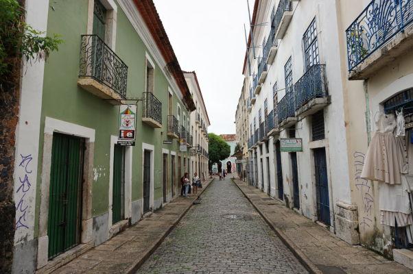 Ulica v historickom centre São Luís