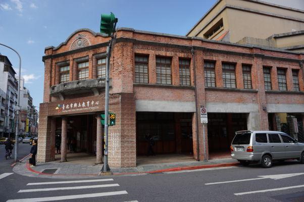 Historické domy bloku Bopiliao v Tchaj-peji