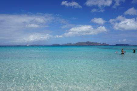 Dokonale modré more v Smuggler's Cove