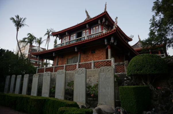 Veža Chihkan v Tchaj-nane, bývalej holandskej pevnosti Fort Provintia